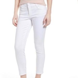 White Ab-solution High Rise Ankle Skimmer Jeans